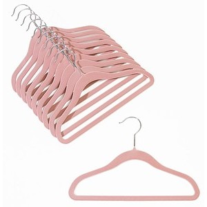 Childrens Slim-Line Pink Hanger