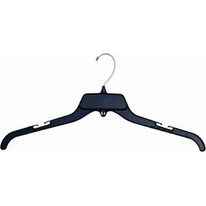 Unbreakable Black Top Hanger