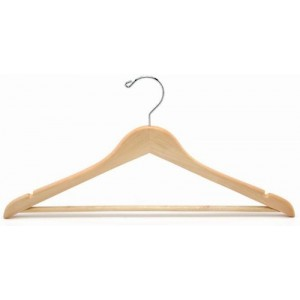 Flat Suit Hanger w/Bar (Oversized)