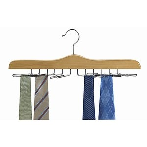 Specialty Tie Hanger - Natural