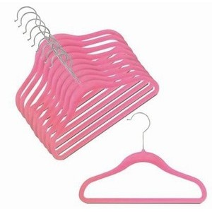 Childrens Slim-Line Hot Pink Hanger